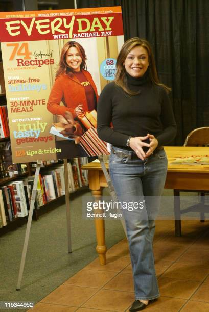 Rachael Ray during Rachael Ray Signs Exculsive Copies Of Her New Magazine 'Every Day With Rachael Ray' at Barnes Noble in New York City New York...