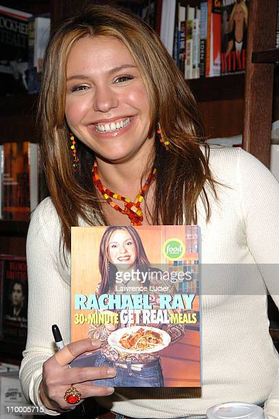 Rachael Ray during Rachael Ray Signs Her Book 30 Minute Get Real Meals at Barnes Noble in New York City March 31 2005 at Barnes Noble Union Square in...