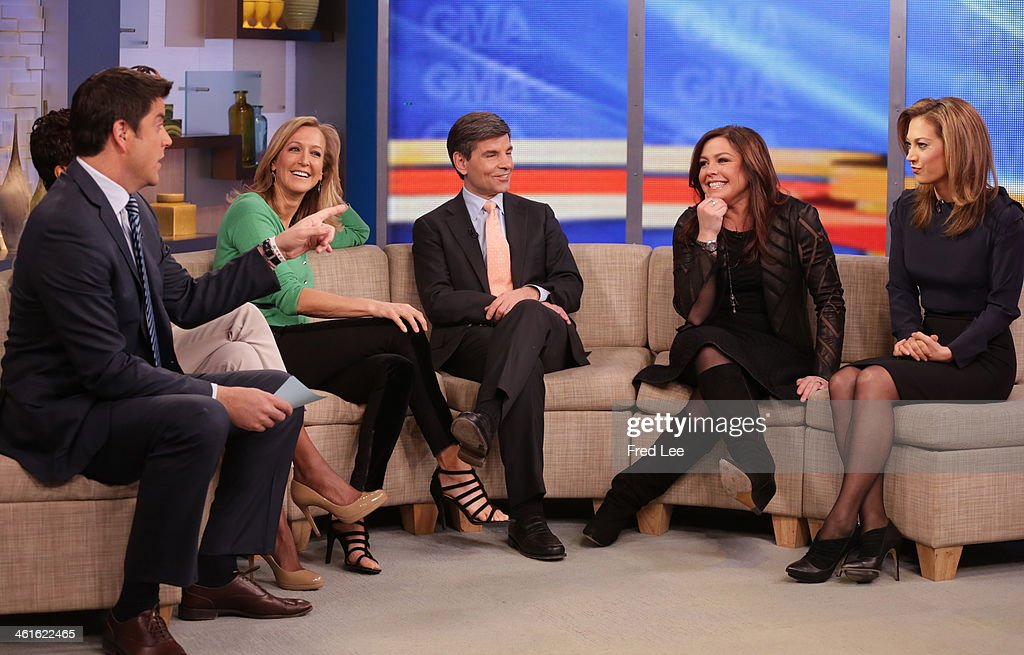 AMERICA - Rachael Ray is a guest on 'Good Morning America,' 1/9/14, airing on the ABC Television Network. JOSH