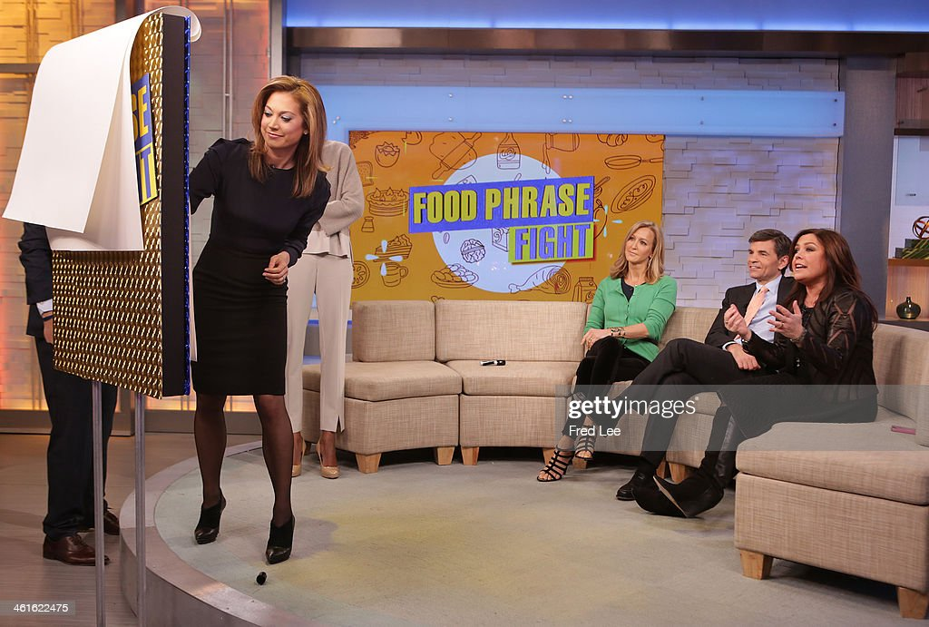 AMERICA - Rachael Ray is a guest on 'Good Morning America,' 1/9/14, airing on the ABC Television Network. GINGER