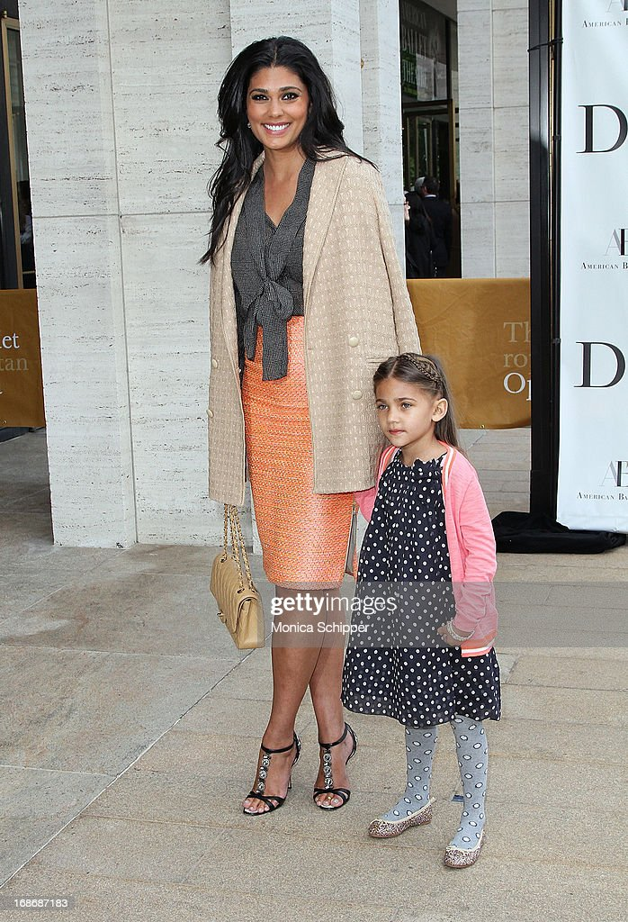 Rachael Roy and Tallulah Roy attend the 2013 American Ballet Theatre Opening Night Spring Gala at Lincoln Center on May 13, 2013 in New York City.