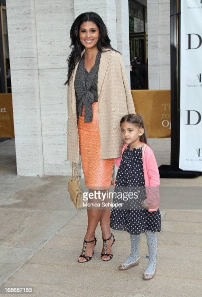 Rachael Roy and Tallulah Roy attend the 2013 American Ballet Theatre Opening Night Spring Gala at Lincoln Center on May 13 2013 in New York City