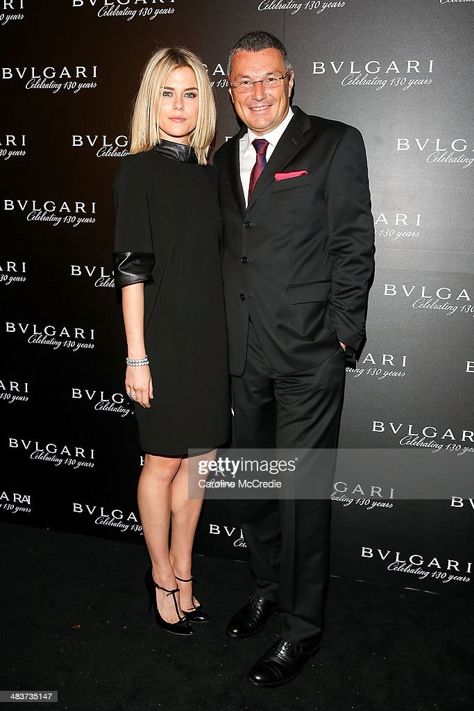 <a gi-track='captionPersonalityLinkClicked' href=/galleries/search?phrase=Rachael+Taylor+-+Actress&family=editorial&specificpeople=544685 ng-click='$event.stopPropagation()'>Rachael Taylor</a> and Bvlgari CEO <a gi-track='captionPersonalityLinkClicked' href=/galleries/search?phrase=Jean-Christophe+Babin&family=editorial&specificpeople=2627159 ng-click='$event.stopPropagation()'>Jean-Christophe Babin</a> attend the 130th Anniversary of Bvlgari Gala Dinner on April 10, 2014 in Sydney, Australia.