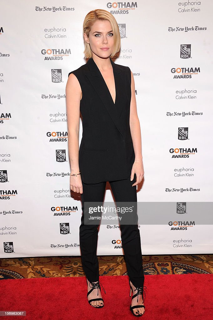 Rachael Taylor attends the 22nd Annual Gotham Independent Film Awards at Cipriani Wall Street on November 26, 2012 in New York City.