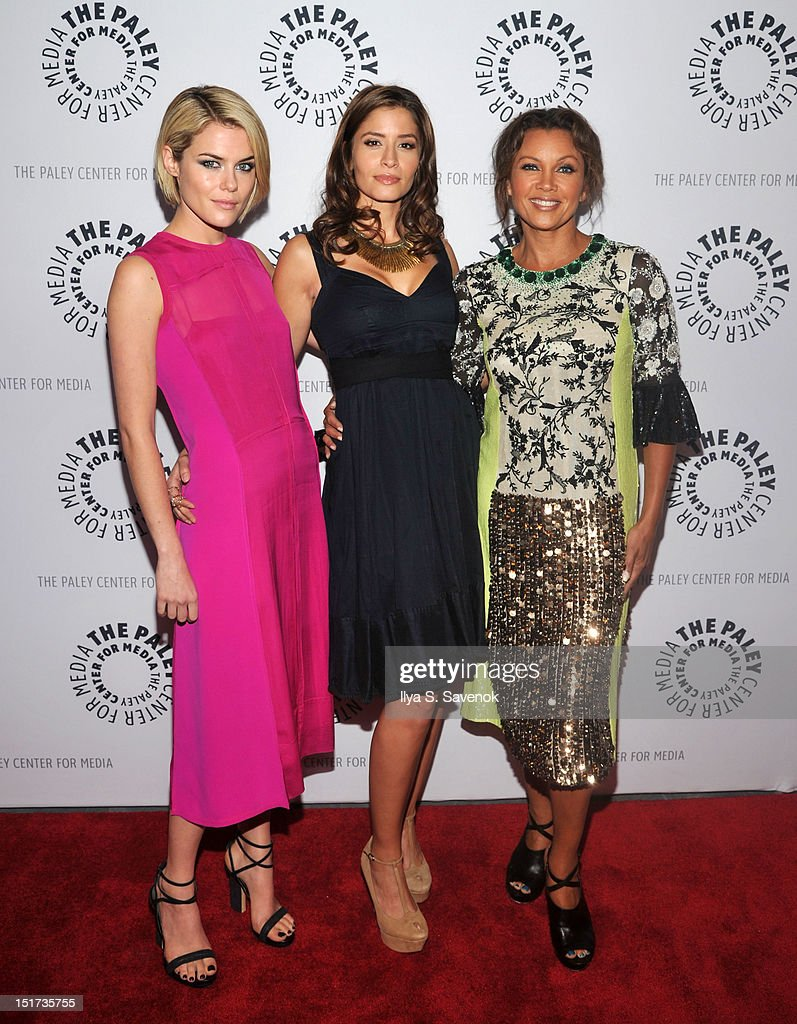 Rachael Taylor Mercedes Masohn and Vanessa Williams attend The Paley Center For Media Presents ABC's '666 Park Avenue' on September 10 2012 in New...