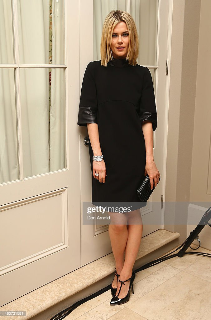 <a gi-track='captionPersonalityLinkClicked' href=/galleries/search?phrase=Rachael+Taylor+-+Actress&family=editorial&specificpeople=544685 ng-click='$event.stopPropagation()'>Rachael Taylor</a> poses at the 130th Anniversary of Bvlgari Gala Dinner at a private residence in Darling Point on April 10, 2014 in Sydney, Australia.