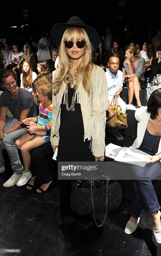 Rachael Zoe attends the Prabal Gurung fashion show during Mercedes-Benz Fashion Week Spring 2014 at Skylight at Moynihan Station on September 7, 2013 in New York City.
