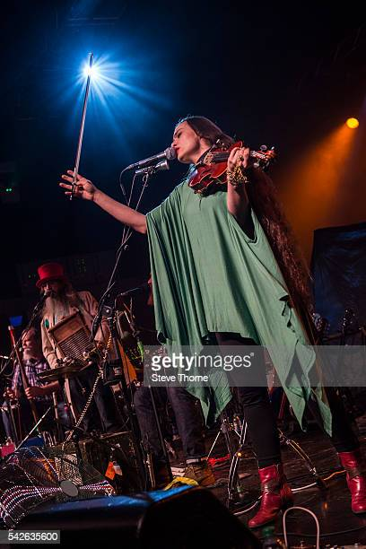 Rachel Ammons of The Ben Miller Band performs at O2 Academy Birmingham on June 23 2016 in Birmingham England