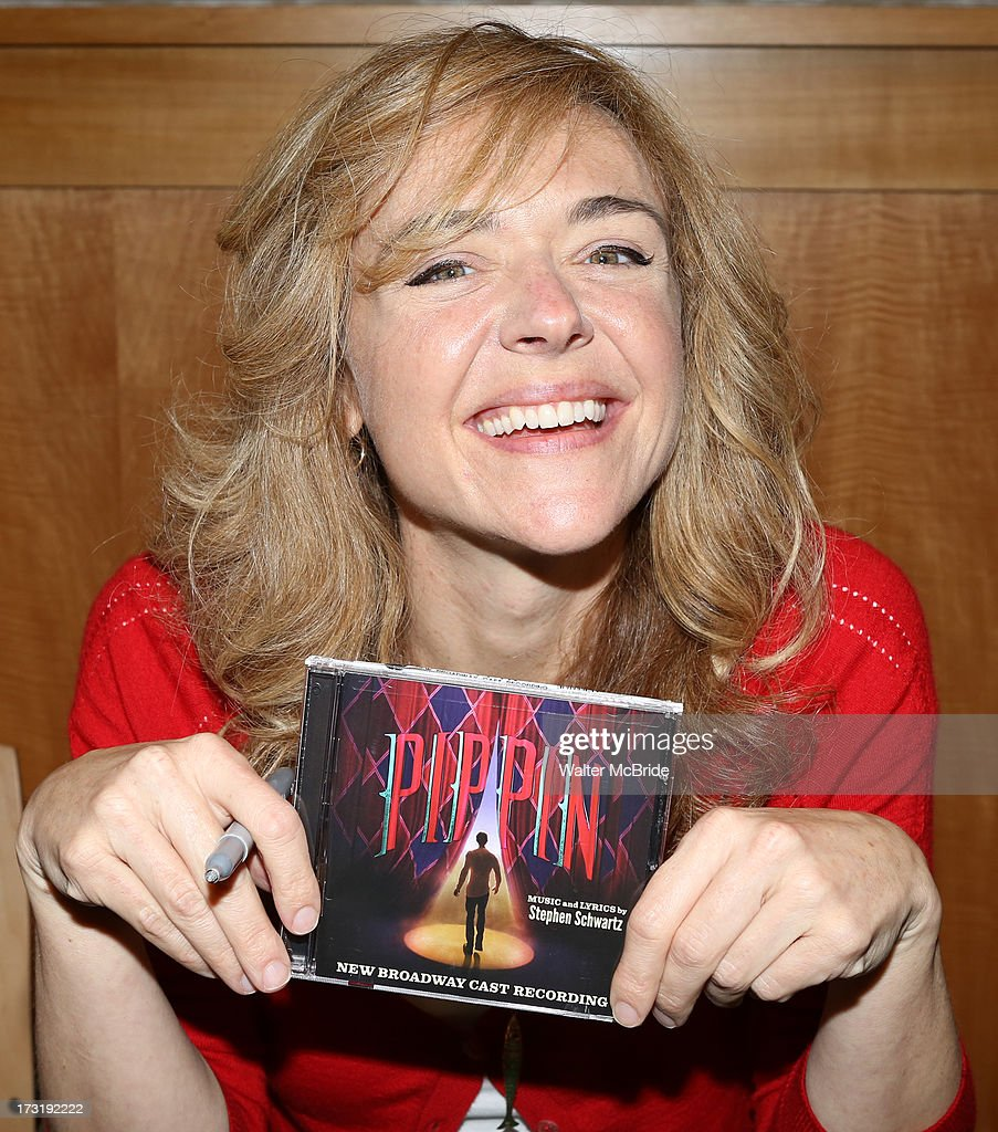 Rachel Bay Jones attends the Broadway cast of 'Pippin' performance and CD signing at Barnes & Noble, 86th & Lexington on July 9, 2013 in New York City.