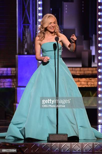 Rachel Bay Jones winner Best Performance by an Actress in a Featured Role in a Musical for Dear Evan Hansen at THE 71st ANNUAL TONY AWARDS broadcast...