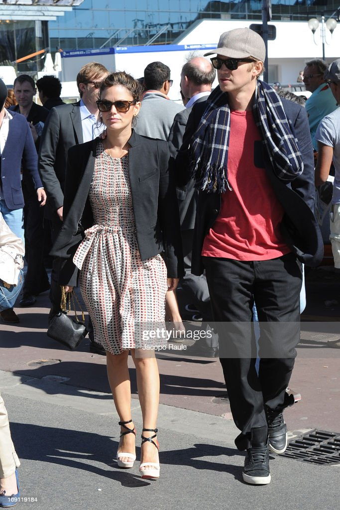 Rachel Bilson and Hayden Christensen are seen during The 66th Annual Cannes Film Festival on May 20, 2013 in Cannes, France.