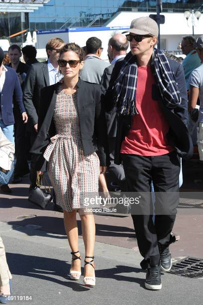 Rachel Bilson and Hayden Christensen are seen during The 66th Annual Cannes Film Festival on May 20 2013 in Cannes France