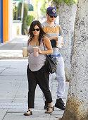 Rachel Bilson and Hayden Christensen are seen on October 06 2014 in Los Angeles California