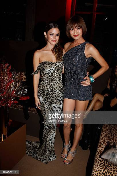 Rachel Bilson and Yu Yamada attend the Roberto Cavalli party 40 anniversary at Les BeauxArts de Paris on September 29 2010 in Paris France