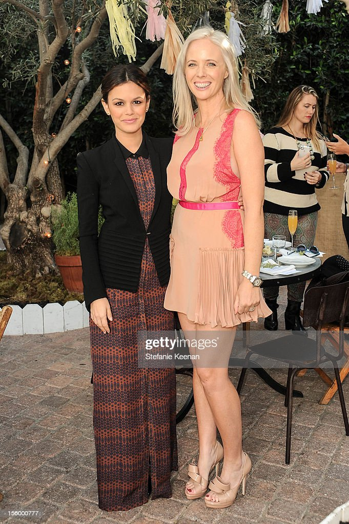 Rachel Bilson attend ShoeMint Celebrates 1 Year Anniversary With Rachel Bilson And Nicole Chavez at Laurel Hardware on November 10, 2012 in West Hollywood, California.