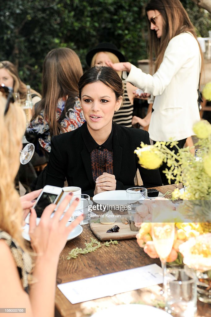 Rachel Bilson attends ShoeMint Celebrates 1 Year Anniversary With Rachel Bilson And Nicole Chavez at Laurel Hardware on November 10, 2012 in West Hollywood, California.