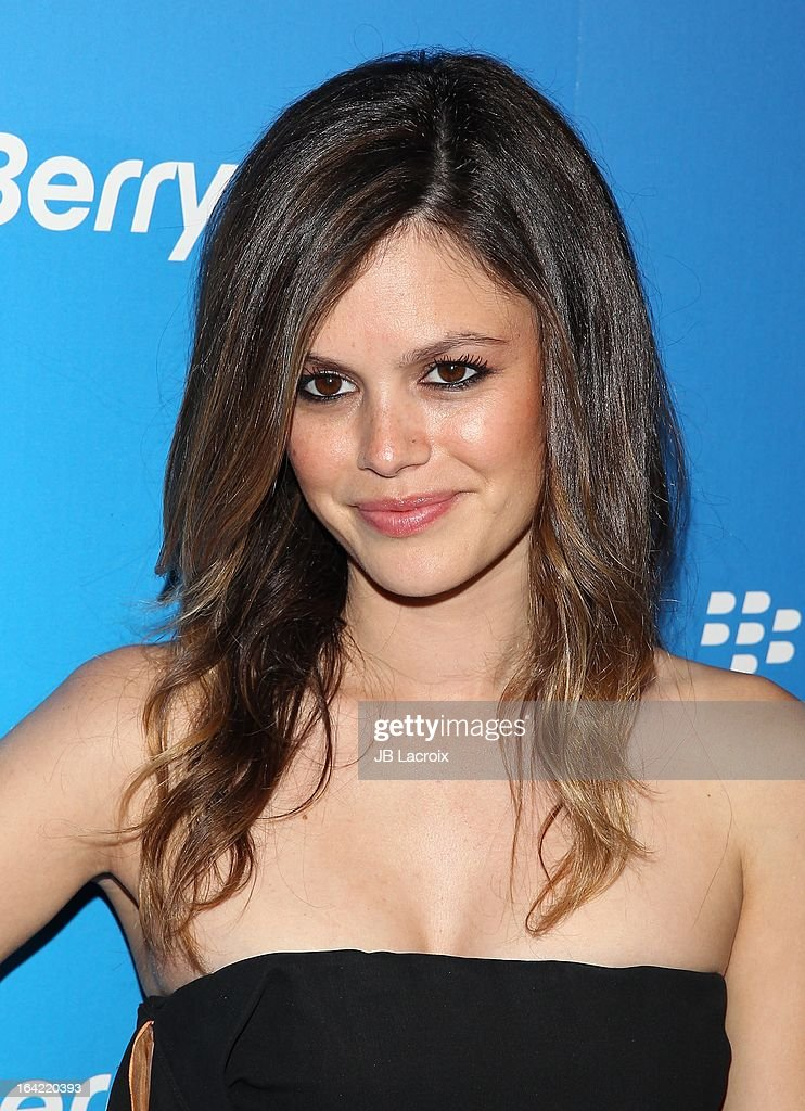 Rachel Bilson attends the BlackBerry Z10 Smartphone launch party held at at Cecconi's Restaurant on March 20, 2013 in Los Angeles, California.