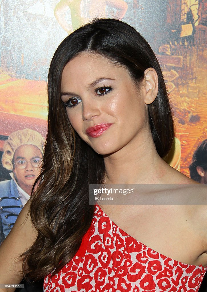 Rachel Bilson attends the 'Fun Size' Los Angeles Premiere held at Paramount Studios on October 25 2012 in Hollywood California