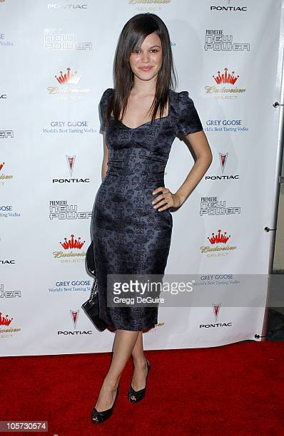 Rachel Bilson during 2005 Premiere Magazine 'The New Power' Arrivals at Hollywood Roosevelt Hotel in Hollywood California United States