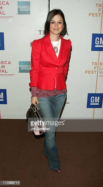 Rachel Bilson during 3rd Annual Tribeca Film Festival 'Stateside' Screening at Pace University in New York City New York United States