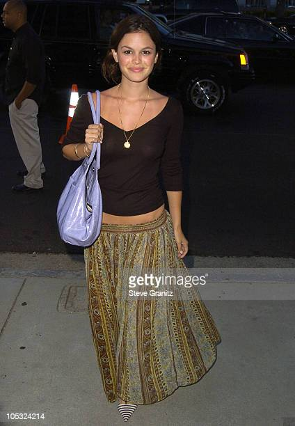 Rachel Bilson during 'Garden State' Los Angeles Premiere Arrivals at Director's Guild of America in Hollywood California United States