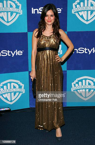 Rachel Bilson during InStyle Warner Bros 2006 Golden Globes After Party Arrivals at The Oasis at the Beverly Hilton in Beverly Hills California...