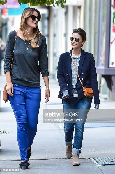 Rachel Bilson is seen on October 01 2012 in New York City
