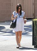 Rachel Bilson is seen on September 30 2014 in Los Angeles California
