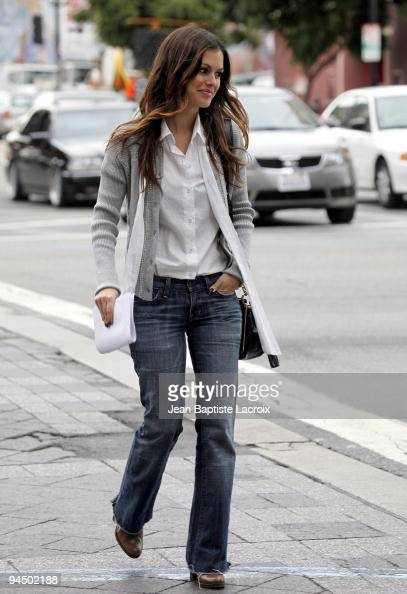 Rachel Bilson sighting in Hollywood on December 15 2009 in Los Angeles California