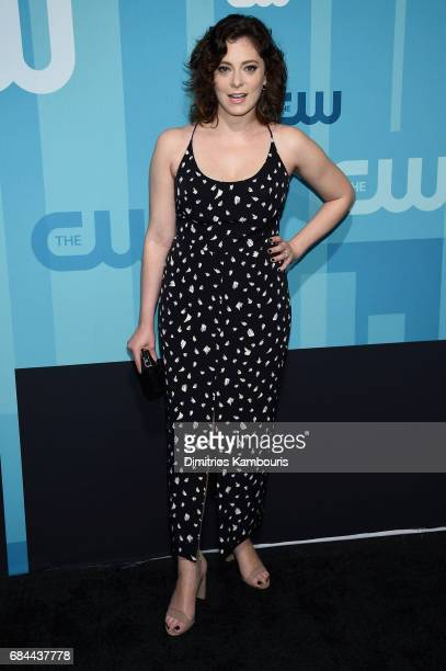 Rachel Bloom attends the 2017 CW Upfront on May 18 2017 in New York City