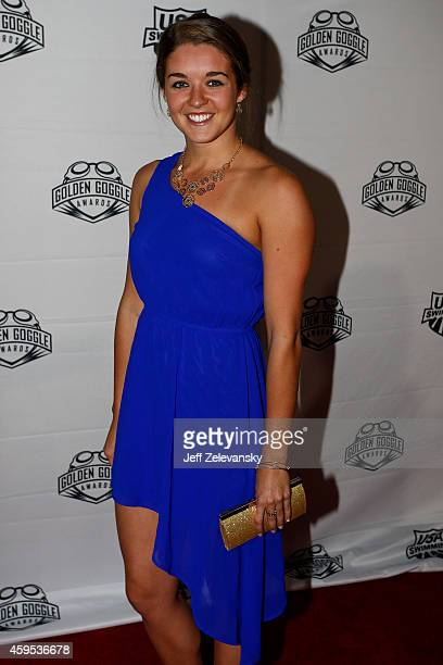 Rachel Bootsma arrives for the 2014 Golden Goggle Awards at the Marriott Marquis Times Square on November 24 2014 in New York City
