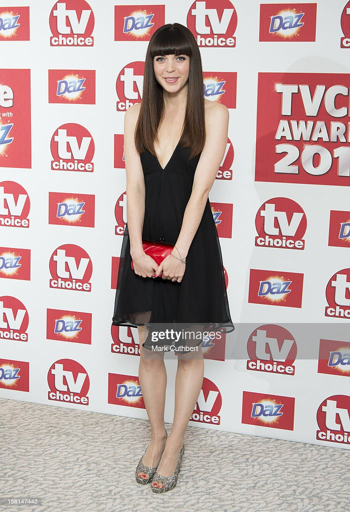 Rachel Bright Arriving At The Tv Choice Awards 2012 At The Dorchester Hotel In London.