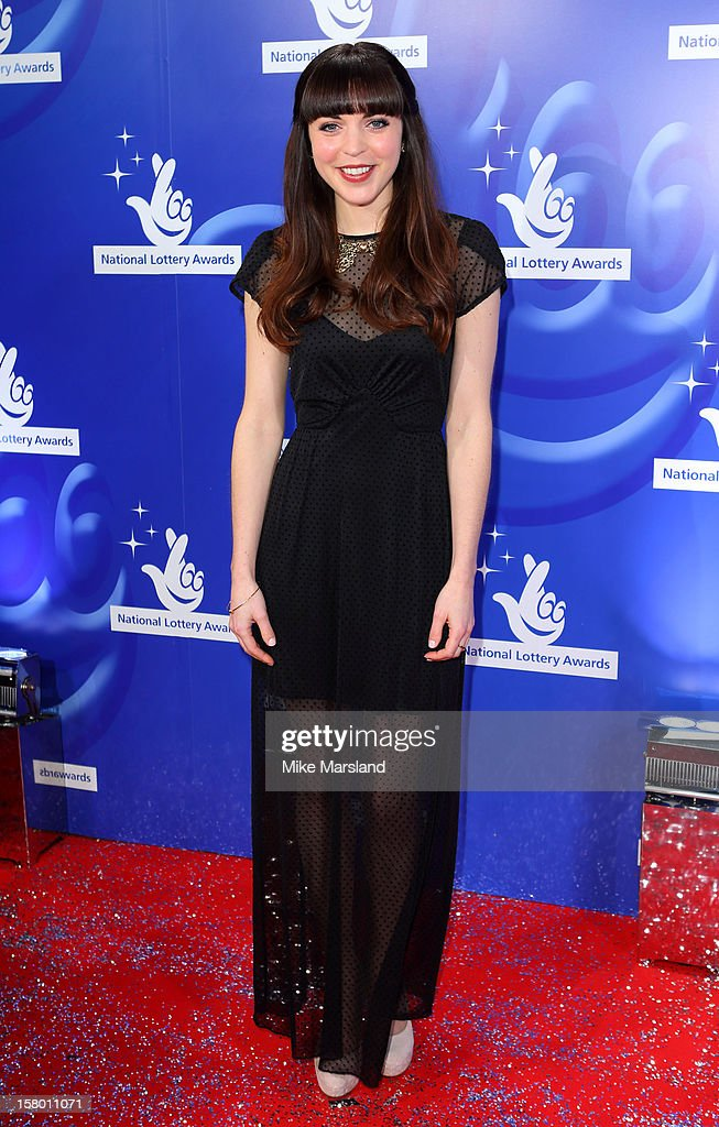 Rachel Bright attends The National Lottery Awards 2012, celebrating the UK's favourite Lottery-funded projects and the difference they make to their communities at The London Studios on December 8, 2012 in London, England.