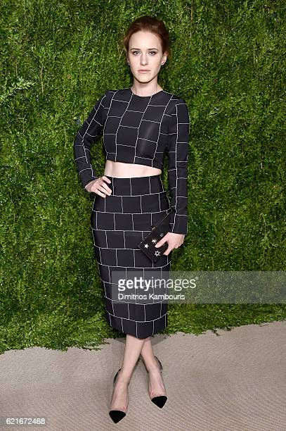 Rachel Brosnahan attends 13th Annual CFDA/Vogue Fashion Fund Awards at Spring Studios on November 7 2016 in New York City