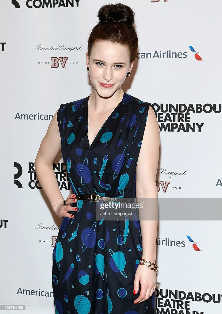 Rachel Brosnahan attends 'The Big Knife' Broadway opening night after party at American Airlines Theatre on April 16, 2013 in New York City.