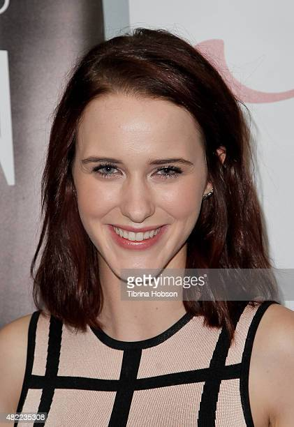 Rachel Brosnahan attends the SAG Foundation screening of WGN America's 'Manhattan' at SAG Foundation Actors Center on July 28 2015 in Los Angeles...