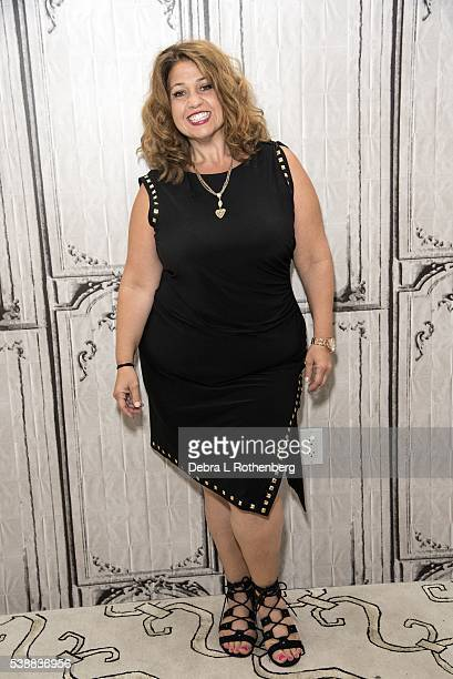 Rachel Butera attends the AOL Speaker SeriesRachel Butera and Jason Scoop 'First Impressions' at AOL Studios In New York on June 8 2016 in New York...