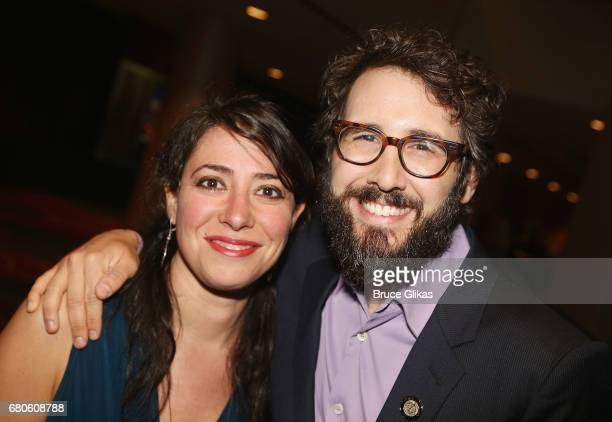 Rachel Chavkin and Josh Groban pose at the The 2017 Actors Fund Gala honoring Danny DeVito and Sally Field at The Marriott Marquis Times Square on...