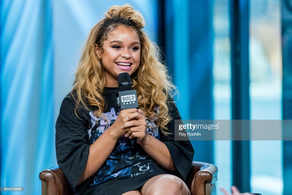 Rachel Crow attends Build Presents Rachel Crow Discussing Her Upcoming Projects at Build Studio on August 17, 2017 in New York City.