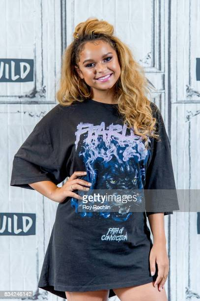 Rachel Crow attends Build Presents Rachel Crow Discussing Her Upcoming Projects at Build Studio on August 17 2017 in New York City