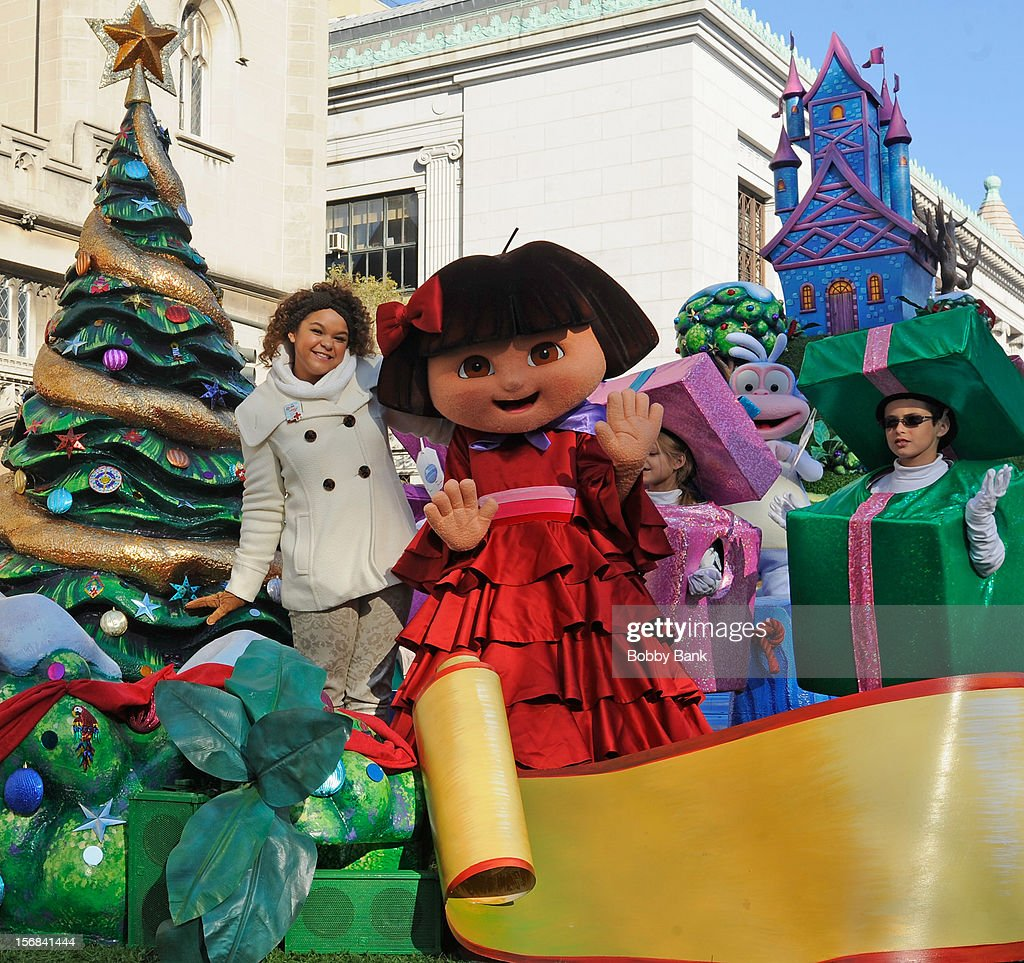 <a gi-track='captionPersonalityLinkClicked' href=/galleries/search?phrase=Rachel+Crow&family=editorial&specificpeople=8299655 ng-click='$event.stopPropagation()'>Rachel Crow</a> attends the 86th Annual Macy's Thanksgiving Day Parade on November 22, 2012 in New York City.