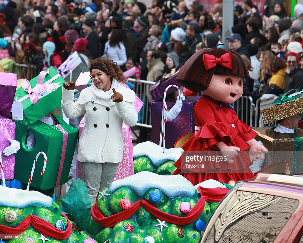 Rachel Crow attends the 86th Annual Macy's Thanksgiving Day Parade on November 22, 2012 in New York City.
