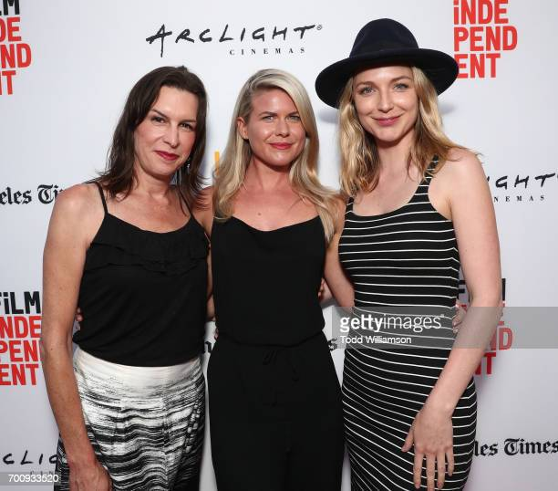 Rachel Crowl Amy Waller and Tania Nolan attend the 2017 Los Angeles Film Festival Closing Night Screening Of 'Ingrid Goes West' at Arclight Cinemas...
