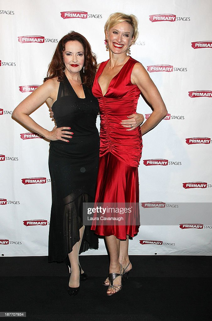 Rachel Debenedet (R) attends the 2013 Primary Stages Annual Gala at The Edison Ballroom on November 11, 2013 in New York City.