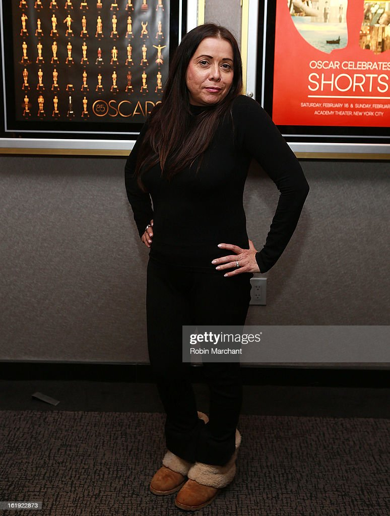Rachel Delmolfetto attends Oscar Celebrates: Documentary Short Subjects at the Academy Theater at Lighthouse International on February 17, 2013 in New York City.