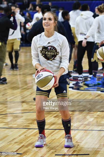 Rachel DeMita attends the 2017 NBA AllStar Celebrity Game at MercedesBenz Superdome on February 17 2017 in New Orleans Louisiana