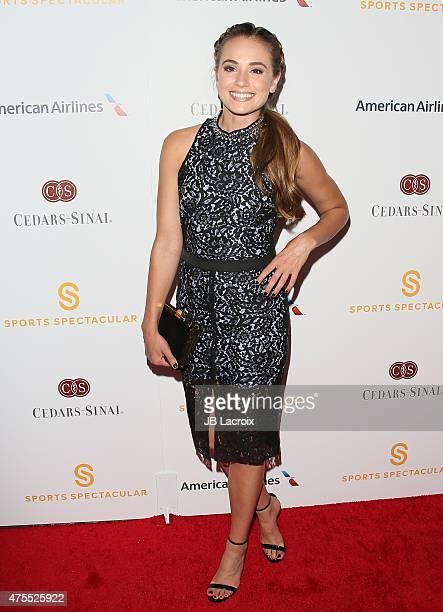 Rachel DeMita attends the CedarsSinai Sports Spectacular at the Hyatt Regency Century Plaza on May 31 2015 in Century City California