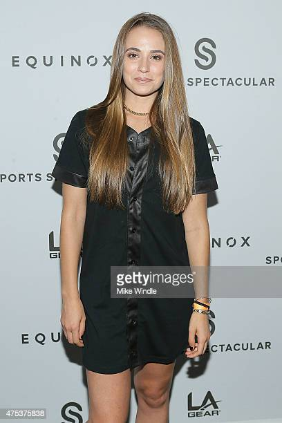 Rachel DeMita attends the Equinox 'Celebrity Basketball Spectacular' To Benefit Sports Spectacular on May 30 2015 in West Los Angeles California