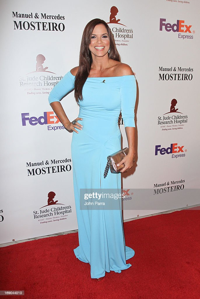Rachel Diaz attends 11th annual FedEx/St. Jude Angels & Stars Gala in Miami at JW Marriott Marquis on May 18, 2013 in Miami, Florida.