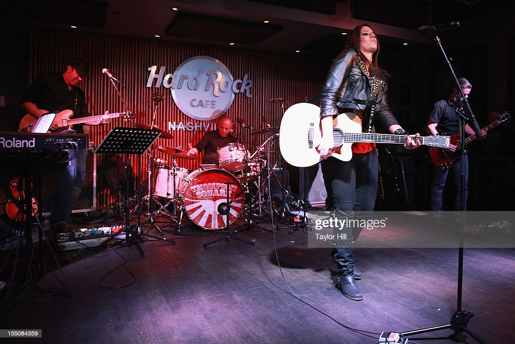 Rachel Farley performs during the BBR Music Group 3rd annual Pre-CMA party at the Hard Rock Cafe Nashville on October 31, 2012 in Nashville, Tennessee.
